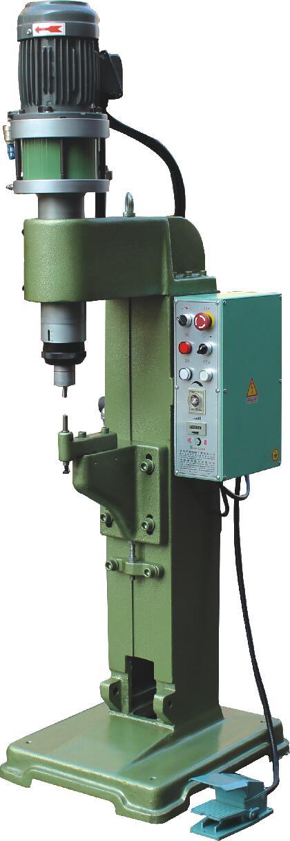 HC-158ST站立型气压式旋转铆钉机